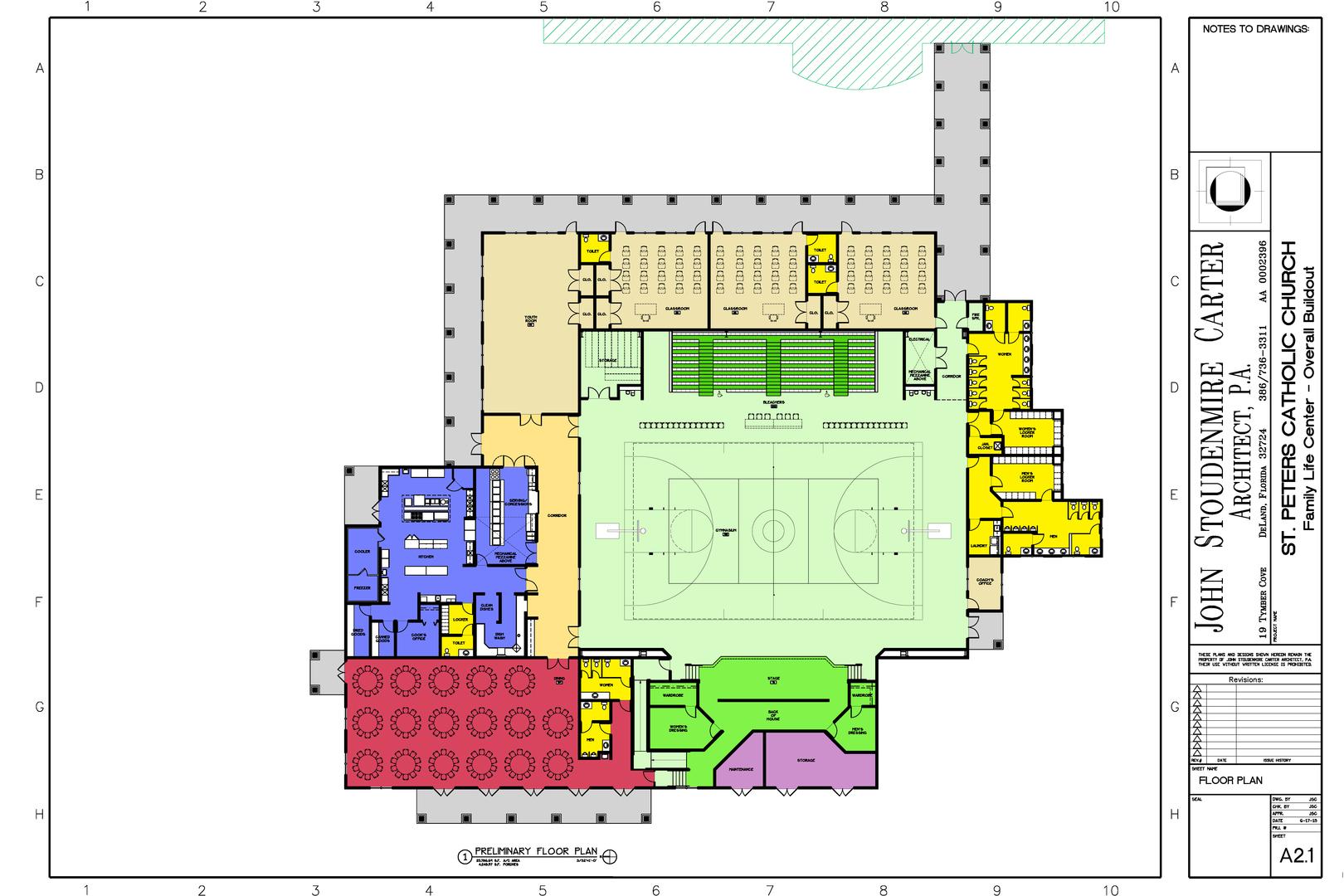 family life center church building floor plans life home